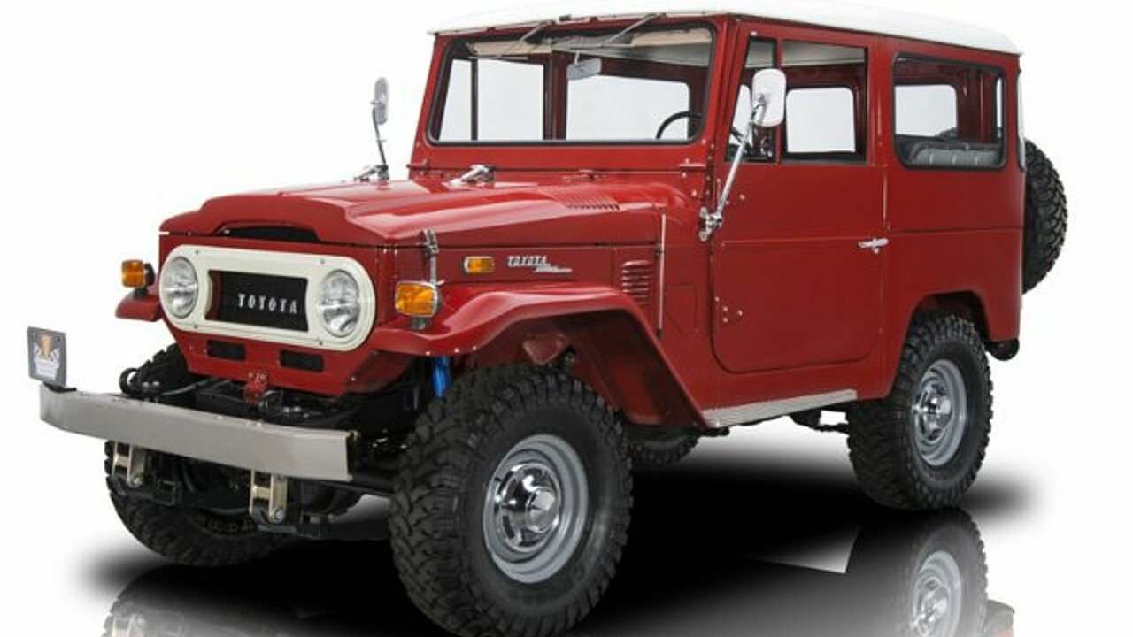 1972 Toyota Land Cruiser for sale 100940648